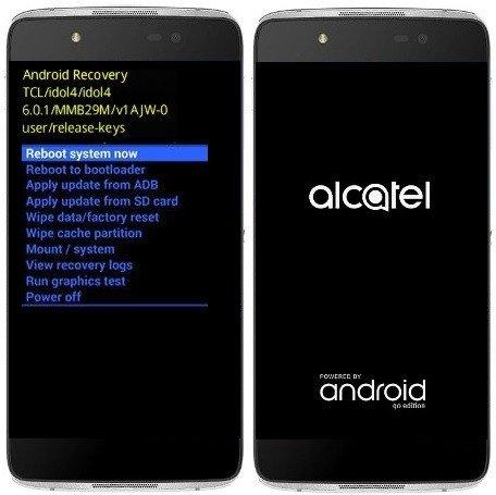 Como formatar Alcatel Idol 4