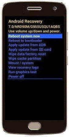 Como formatar Moto G5 Plus / G5S