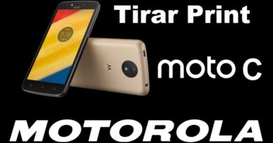 Como tirar Print no Motorola Moto C Plus