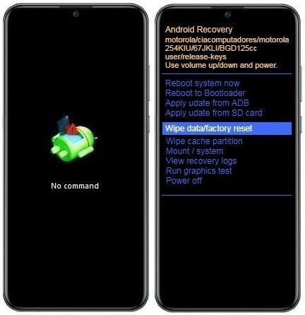 Como resetar Motorola One Macro