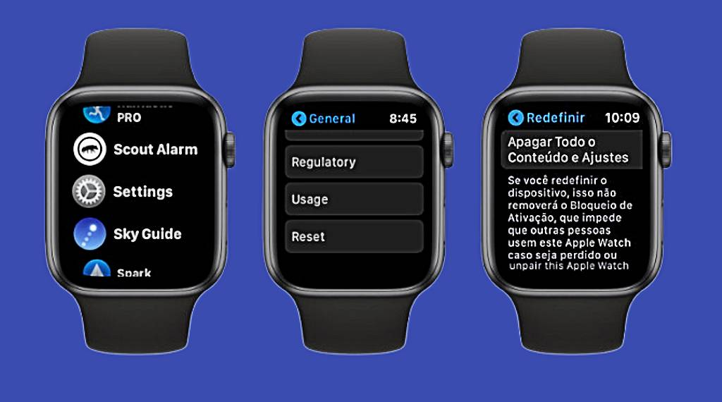 Como liberar memória no Apple Watch