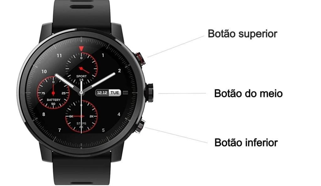 Como configurar relógio Amazfit Stratos