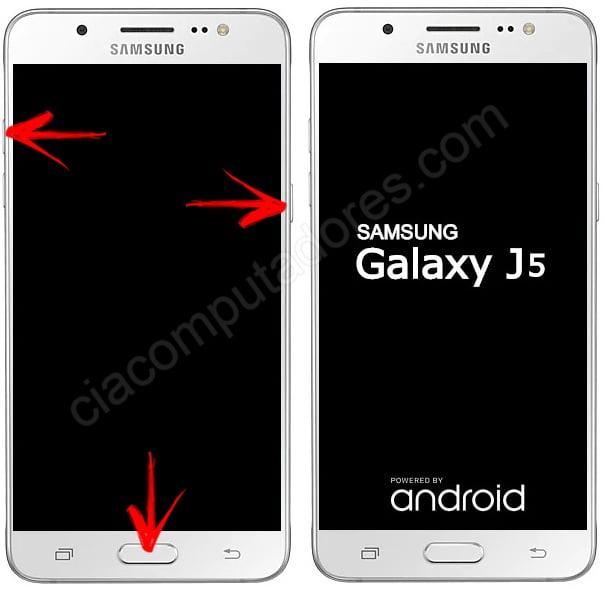 Como resetar o celular Samsung Galaxy J5