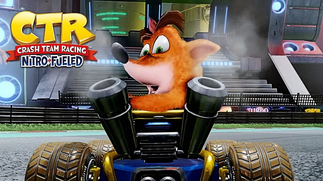 Crash Team Racing Nitro Fueled códigos para PS4