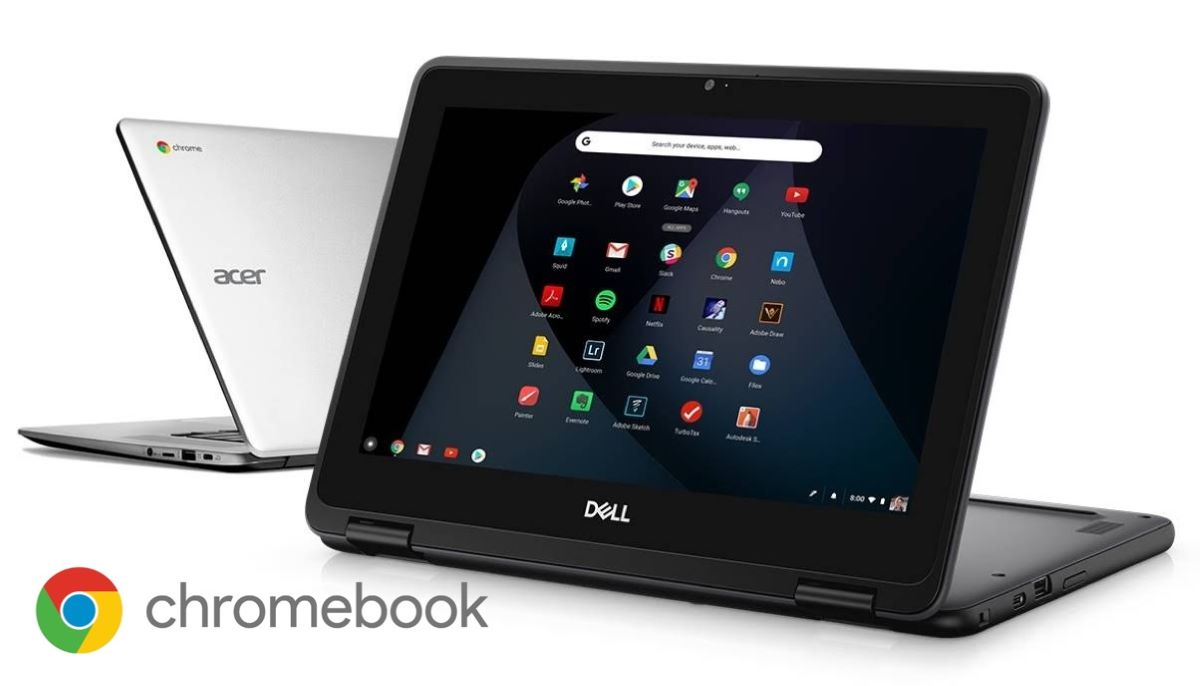 Chromebook Dell e Acer
