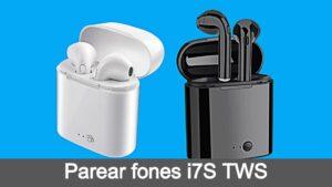 Como emparelhar fones i7S TWS