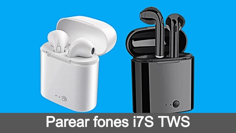 Case e fones bluetooth i7S