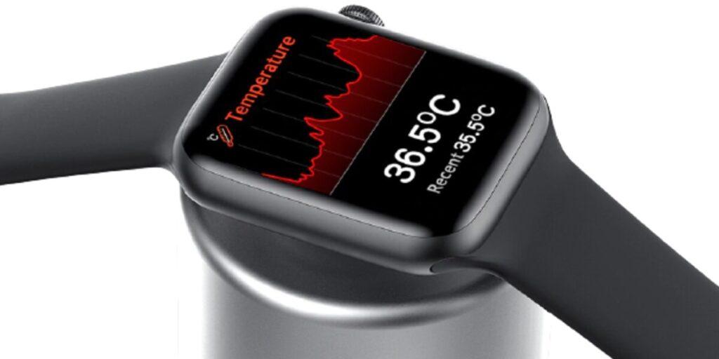 IWO W46: medindo a temperatura.