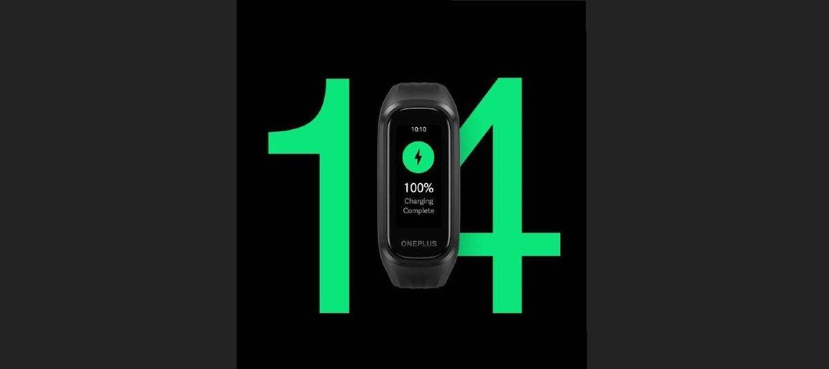OnePlus Band: 14 dias com uma única carga na bateria