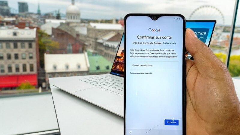 Redefinir Motorola Moto E7 Power a partir da Conta do Google (online)