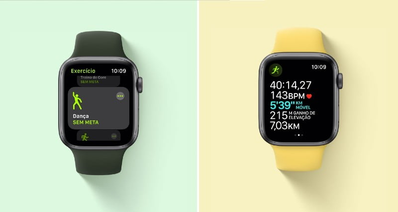 Apple Watch SE com GPS integrado