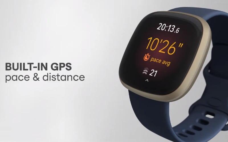 Fitbit Versa 3 com GPS integrado