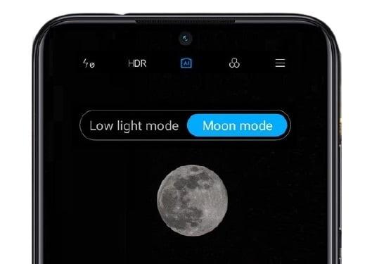 Modo lua Xiaomi MI 9
